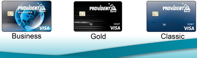 Image of Provident Debit Cards with new chip technology