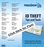 Graphic Link to a PDF for ID Theft Pamphlet