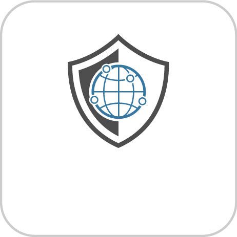 Shield for and link to Online Security Information