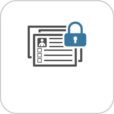 Shield for and link to Privacy Policy Information